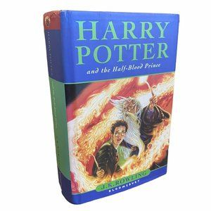 Harry Potter Half Blood Prince 1st Edt w ERROR